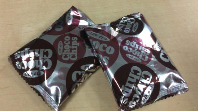 ミスターイトウのチョコチップスの包装